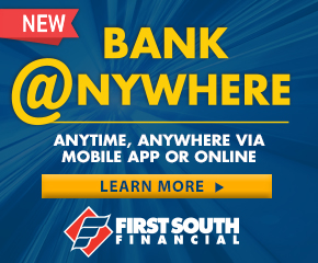 Bank@anywhere small banner