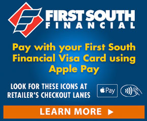 Apple Pay from First South Finanical