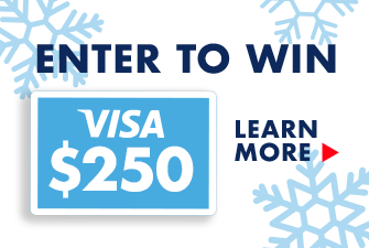 Enter to win a $250 Visa Gift Card