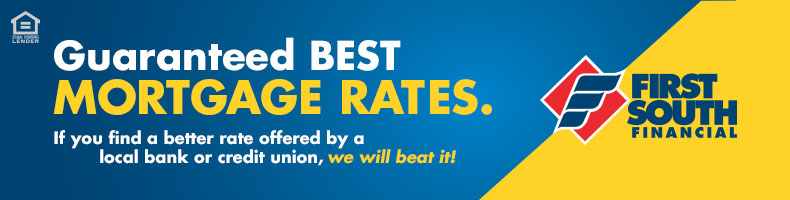 3.75% APR 10 year fixed rate or 4.00% APR 15 year fixed rate mortgages with no points, fees, or closing costs